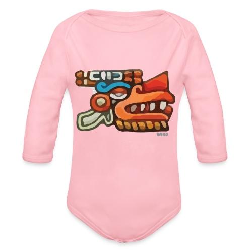 Aztec Icon Wind - Organic Longsleeve Baby Bodysuit