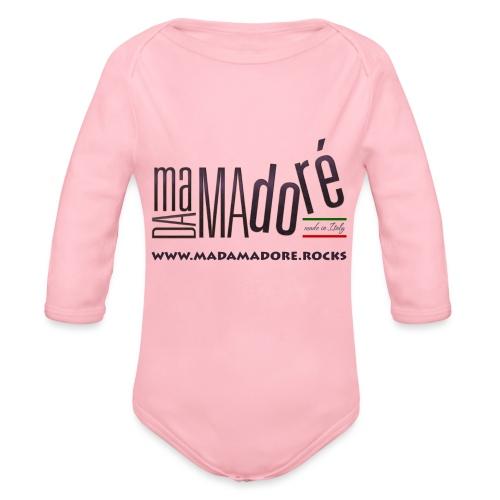 T-Shirt - Uomo - Logo Standard + Sito - Body ecologico per neonato a manica lunga