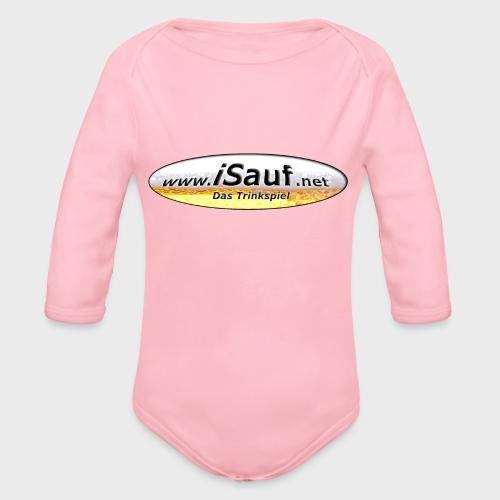 iSauf Logo - Baby Bio-Langarm-Body