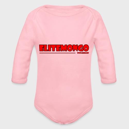 Elitemongo - Baby Bio-Langarm-Body