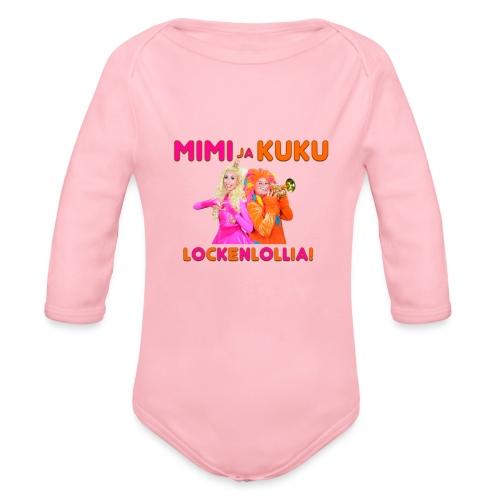Mimi ja Kuku Lockenlollia - Vauvan pitkähihainen luomu-body