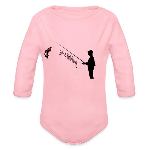 Angler - Baby Bio-Langarm-Body