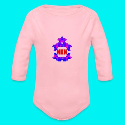THE OFFICIAL NEUKADNEZZAR T-SHIRT - Organic Longsleeve Baby Bodysuit