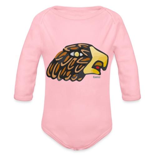Aztec Icon Eagle - Organic Longsleeve Baby Bodysuit
