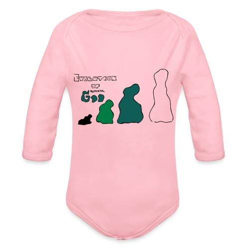 Primordial - Organic Longsleeve Baby Bodysuit