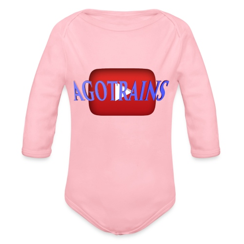 AGOTRAINS - Body ecologico per neonato a manica lunga