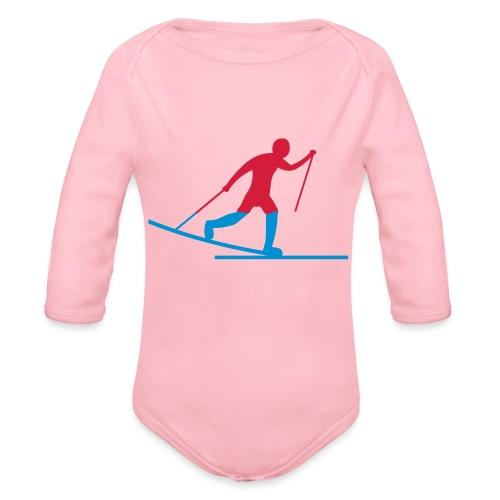 Skiløper - Økologisk langermet baby-body