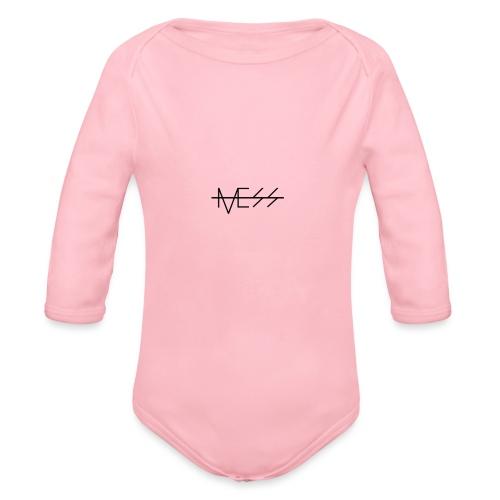 MESS t-paita - Vauvan pitkähihainen luomu-body