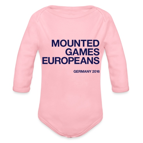 Mounted Games Europeans Hoodie - Baby Bio-Langarm-Body