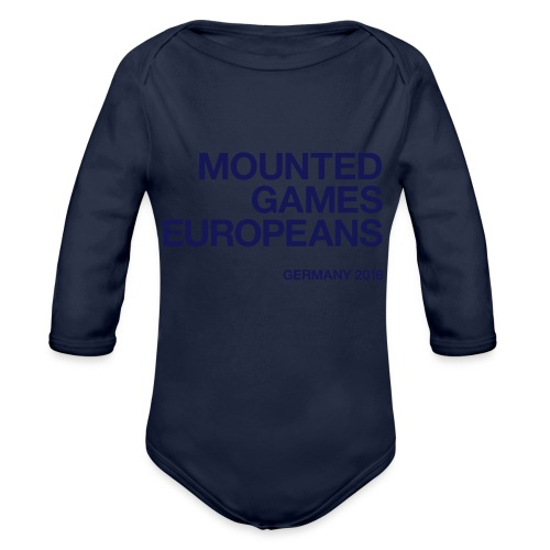 Mounted Games Europeans Hoodie - Baby Bio-Langarm-Body