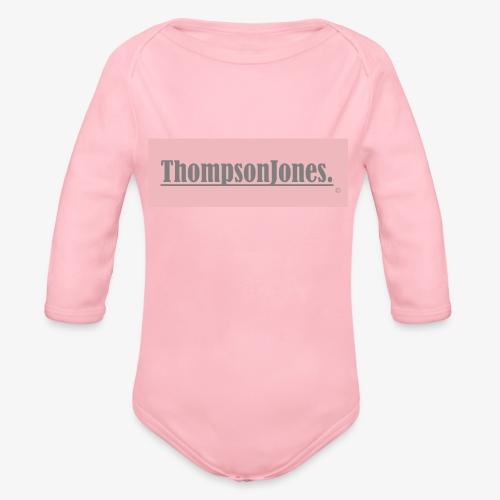 Label ThompsonJones - Baby Bio-Langarm-Body