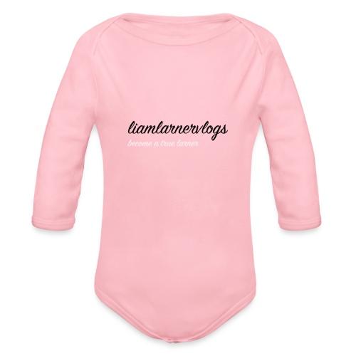 LiamLarnerVlogs - Organic Longsleeve Baby Bodysuit