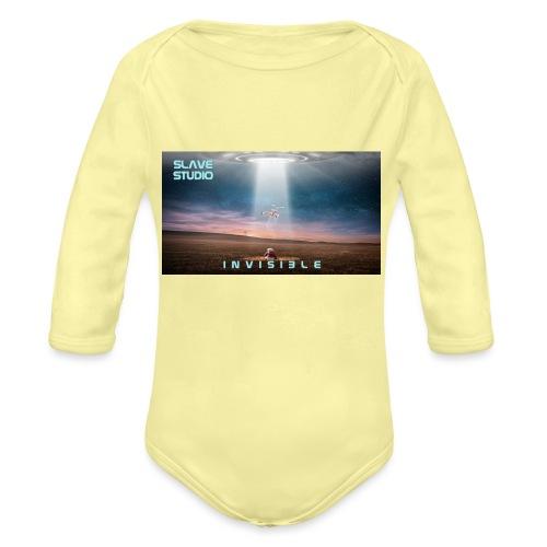 INVISIBLE - Body ecologico per neonato a manica lunga