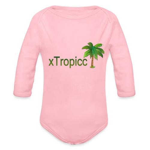tropicc - Body Bébé bio manches longues