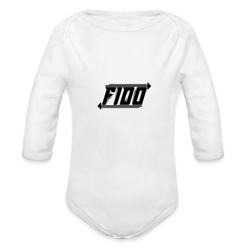Fido - Simple - Langærmet babybody, økologisk bomuld