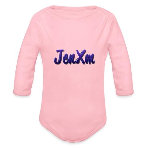 JenxM - Organic Longsleeve Baby Bodysuit