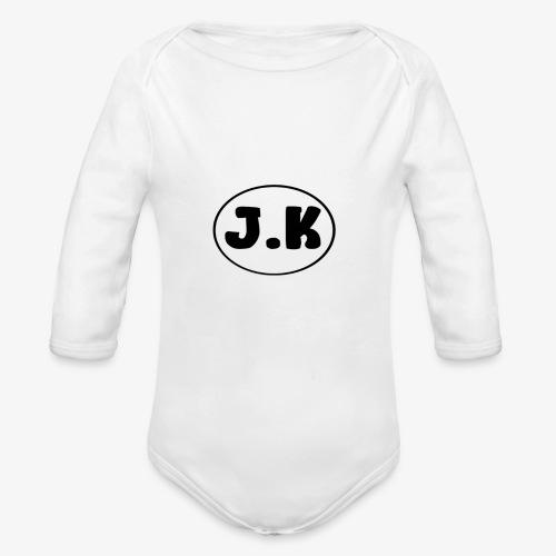 J K - Organic Longsleeve Baby Bodysuit