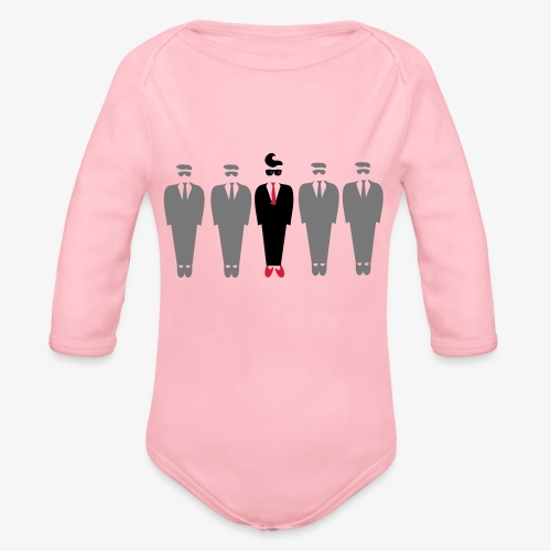 Dare to be different design by Patjila - Organic Longsleeve Baby Bodysuit