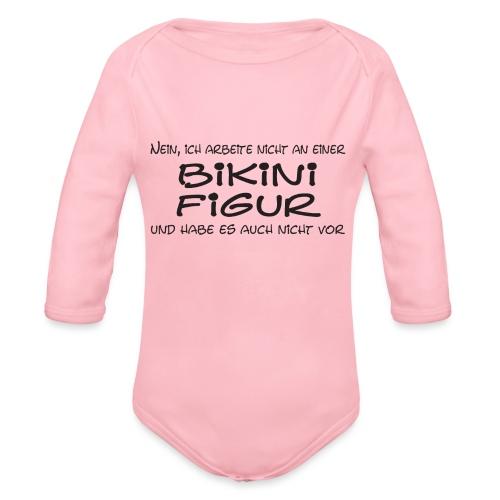 Bikinifigur01 - Baby Bio-Langarm-Body
