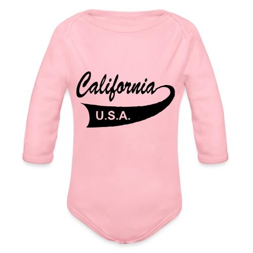California USA - Baby Bio-Langarm-Body