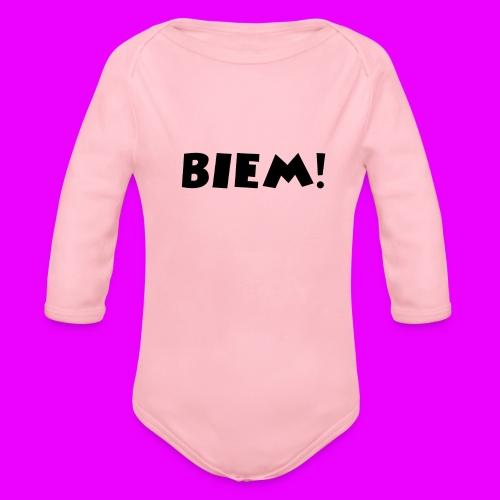BIEM - Baby bio-rompertje met lange mouwen