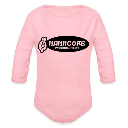 hahncore_sw_nur - Baby Bio-Langarm-Body