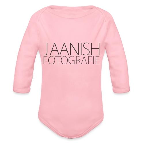 LOGO JAANISH PNG - Baby bio-rompertje met lange mouwen