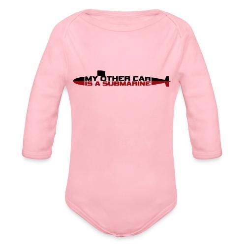 My other car is a Submarine! - Organic Longsleeve Baby Bodysuit