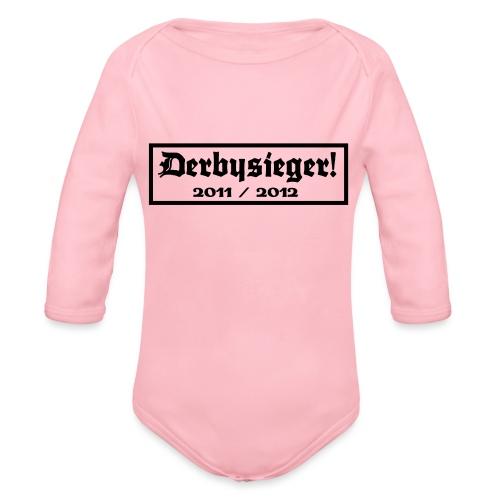 Derbysieger 2012 - Baby Bio-Langarm-Body