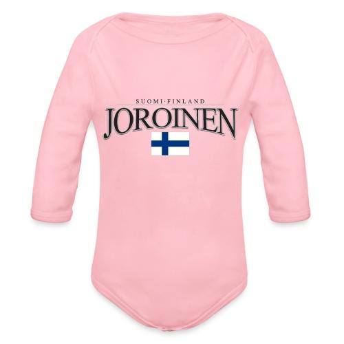 Suomipaita - Joroinen Suomi Finland - Vauvan pitkähihainen luomu-body