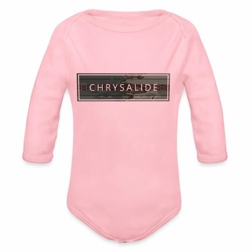 Chrysalide t shirt 006 petit format - Body Bébé bio manches longues