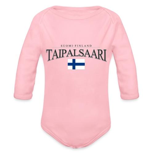 Suomipaita - Taipalsaari Suomi Finland - Vauvan pitkähihainen luomu-body