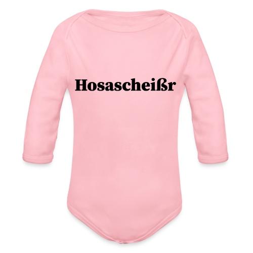 Hosascheißr - Baby Bio-Langarm-Body