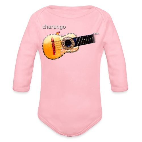 Charango - Body orgánico de manga larga para bebé