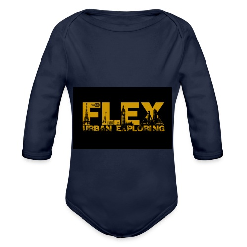 FlexUrban - Organic Longsleeve Baby Bodysuit