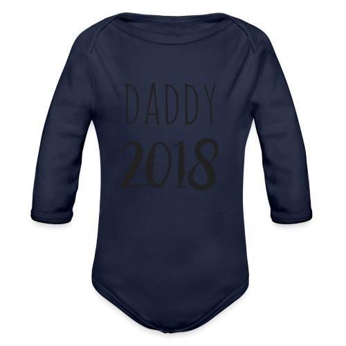 Daddy 2018 - Baby Bio-Langarm-Body