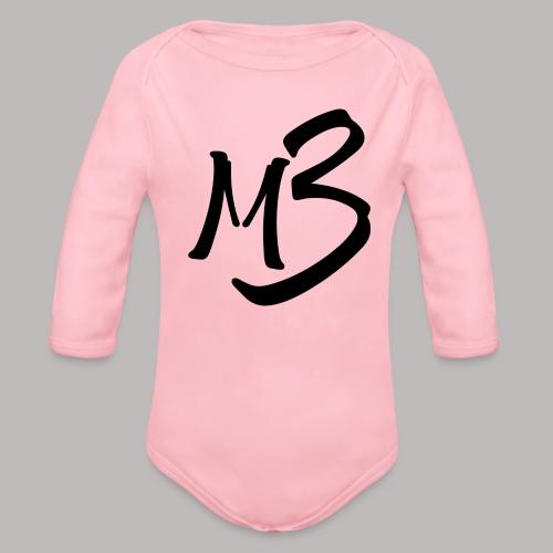 MB13 logo - Organic Longsleeve Baby Bodysuit