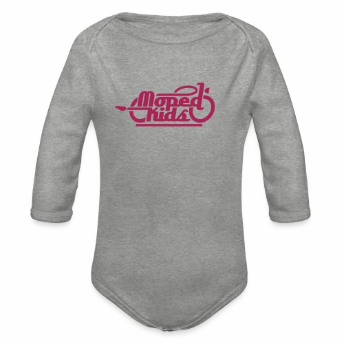 Moped Kids / Mopedkids (V1) - Organic Longsleeve Baby Bodysuit