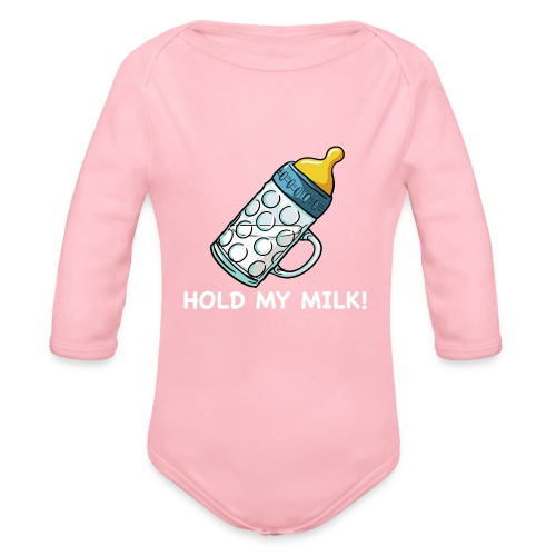 Hold My Milk - Baby Bio-Langarm-Body