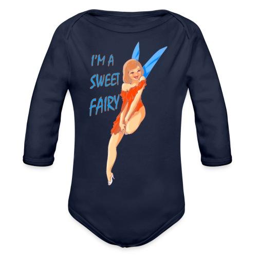 Sweet Fairy - Body ecologico per neonato a manica lunga