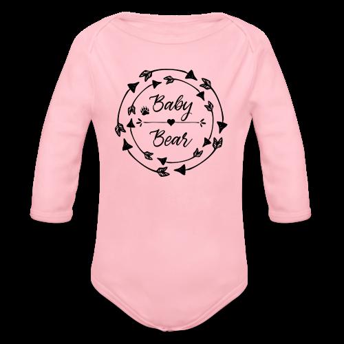 Baby Bear - Baby Bio-Langarm-Body