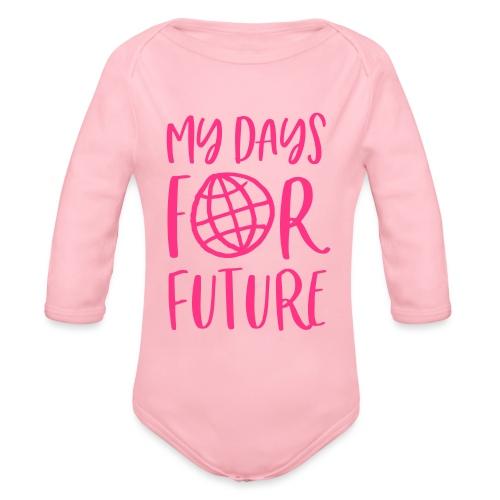 my days for future - Achtsamkeit jeden Tag - Baby Bio-Langarm-Body