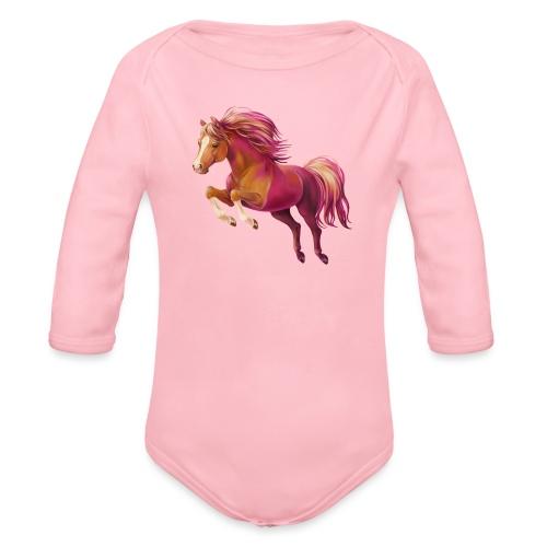 Cory the Pony - Baby Bio-Langarm-Body