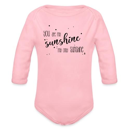 shirtsbydep sunshine - Baby bio-rompertje met lange mouwen