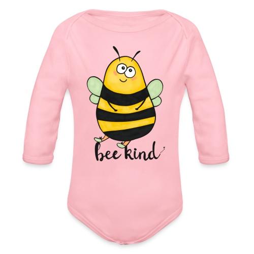Bee kid - Organic Longsleeve Baby Bodysuit