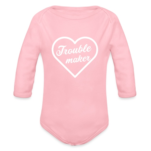 Trouble Maker - Baby Bio-Langarm-Body