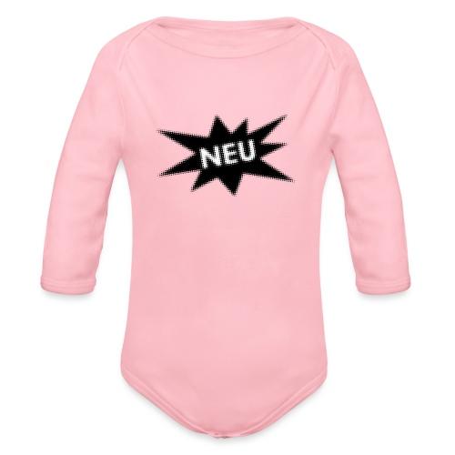 Neu - Baby Bio-Langarm-Body