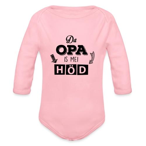 Vorschau: Da Opa is mei Höd - Baby Bio-Langarm-Body