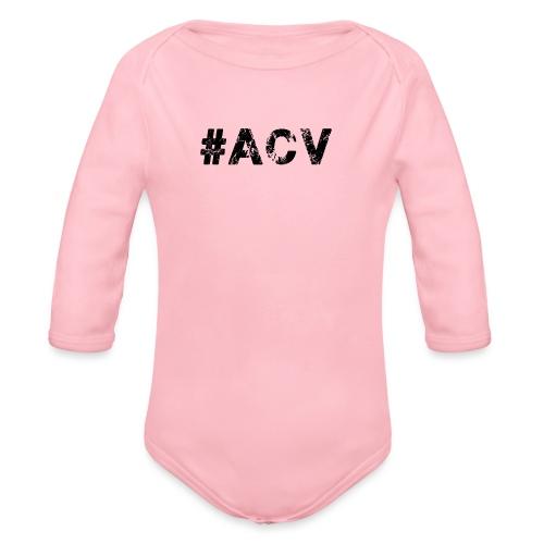 #ACV Logo - Baby Bio-Langarm-Body
