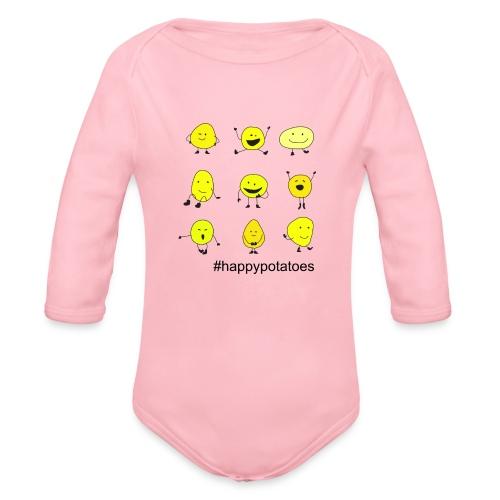 9 smilies - Baby Bio-Langarm-Body